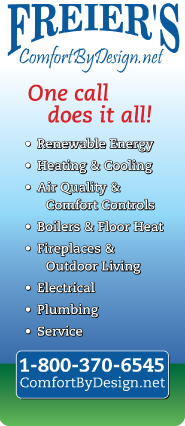 Whether it is Furnace repair in Ellsworth, WI or any other comfort need, let Freier's care for you.