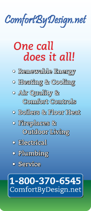 Whether it is Furnace repair in Ellsworth, WI or any other comfort need, let Comfort By Design care for you.