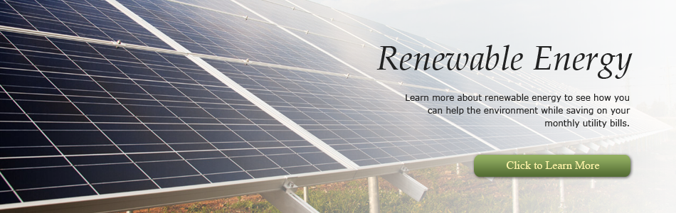 Learn about renewable energy for your Hudson, WI home with Comfort by Design.